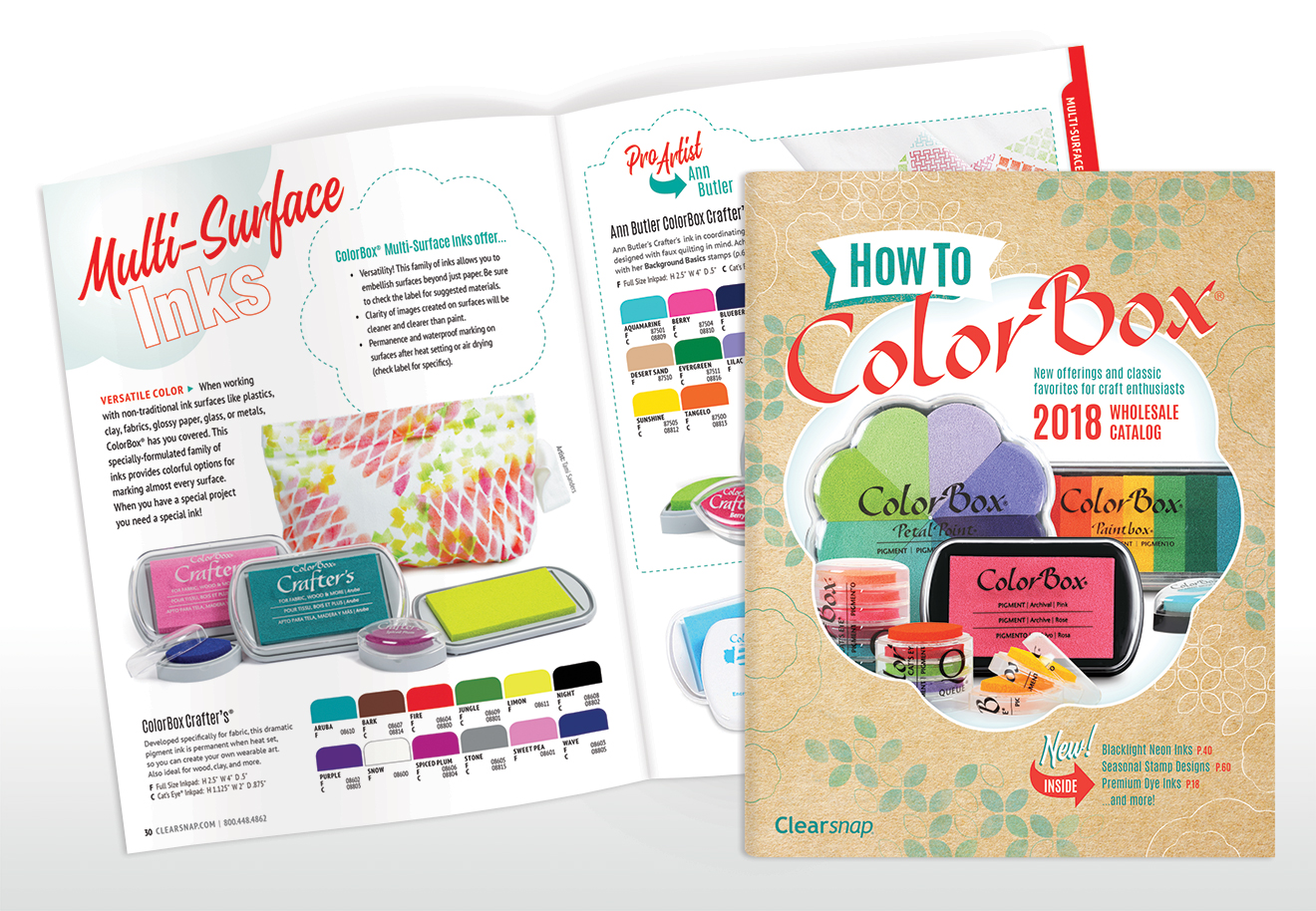 Clearsnap Catalog